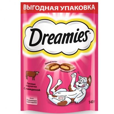 Лакомство для кошек DREAMIES с говядиной