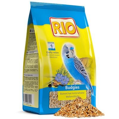 Корм для птиц RIO для волнистых попугаев