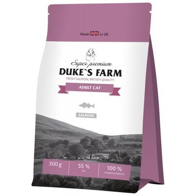 Корм для кошек DUKE'S FARM лосось