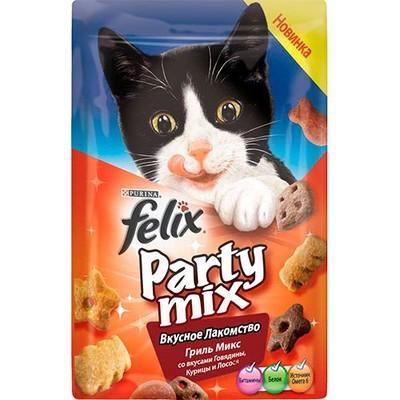 Лакомство для кошек FELIX Party mix Гриль Микс