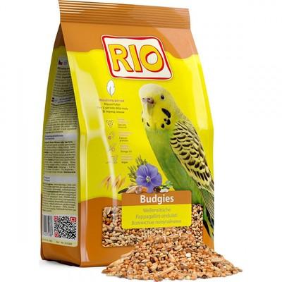 Корм для птиц RIO для волнистых попугаев в период линьки