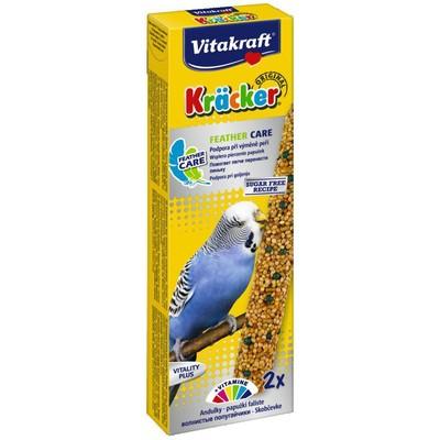 Лакомство для птиц VITAKRAFT Крекеры для волнистых попугаев при линьке (2шт.уп)