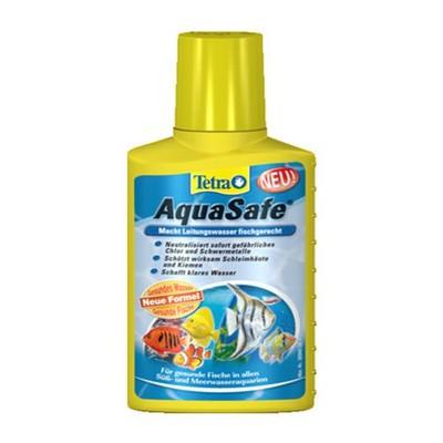 Кондиционер для воды TETRA АКВА СЭЙФ для аквариумной и водопроводной воды, 100мл
