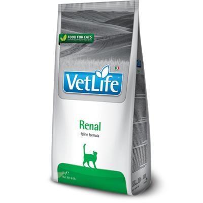 Корм для кошек FARMINA Vet Life Natural Diet при почечной недостаточности