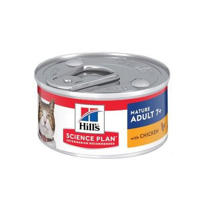 Корм для кошек Hill's для пожилых кошек Курица конс.