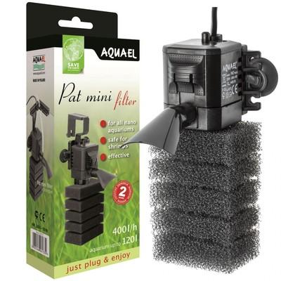 Помпа фильтр AQUAEL Pat mini (до60л) 400л/ч